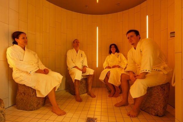 Dampfsauna in der Saunawelt der Waldsee Therme