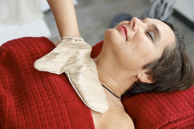 Massage im Sauna und Wellnessbereich