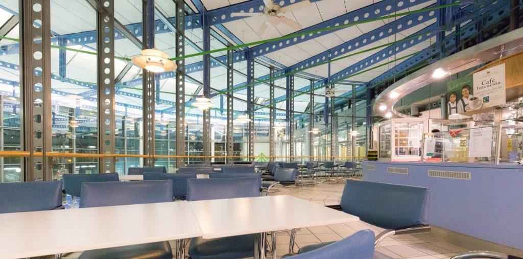 Blick in die Cafeteria