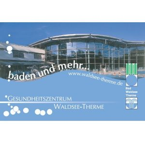 Eintrittskarte Waldsee-Therme