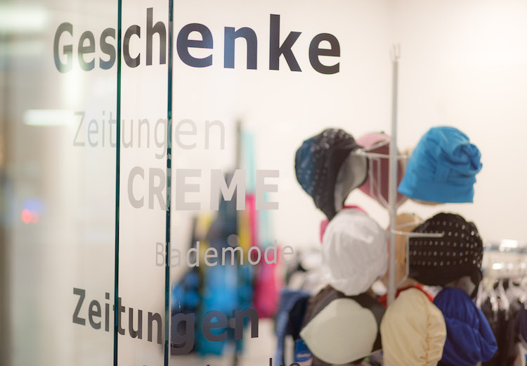Waldsee-Therme Shop in der Therme