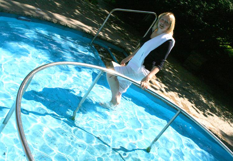Wassertreten Kneipptherapie